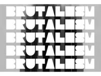 Brutalism font