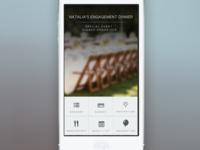 Dinner Planner/Organizer Mobile App