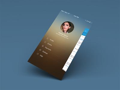 Journal App Side Menu