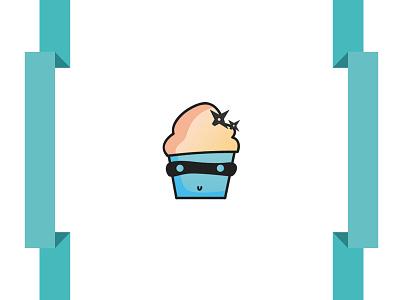 Cake in Ribbons vector business card print ribbon