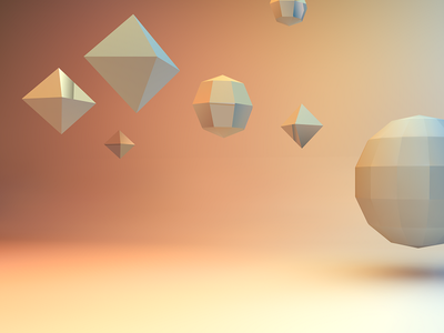 Low Poly Background 3d wallpaper background