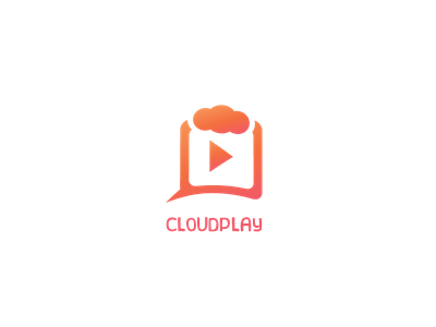Media Logo Template logo vector sale cloud stream