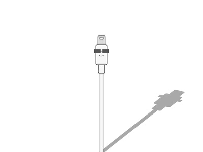 The Style Cord vector apple charger fashion glass port