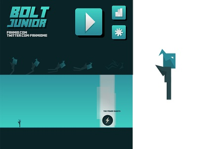 New Game design iphone android mobile illustrator unity vector game