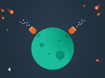 Space Game clean android ios mobile space