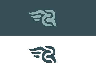 Evangelista Logo Concepts identity designer identity branding identitydesign logos logomark lettermark wings client work clean high end logo development brand branding concepts logo design