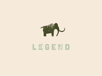 Live Legendary Logo merchandise design distressed design vector branding for outdoor outdoor industry branding branding designer logo design