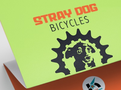 Logo design for Stray Dog Bikes