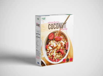 Freshly Made | Strawberry Coconut Granola