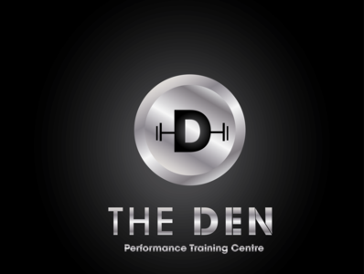 The Den Logo (Metallic Version)