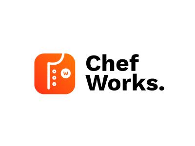 Chef Works. icon brand and identity logo design logo ux branding design creative logodesign