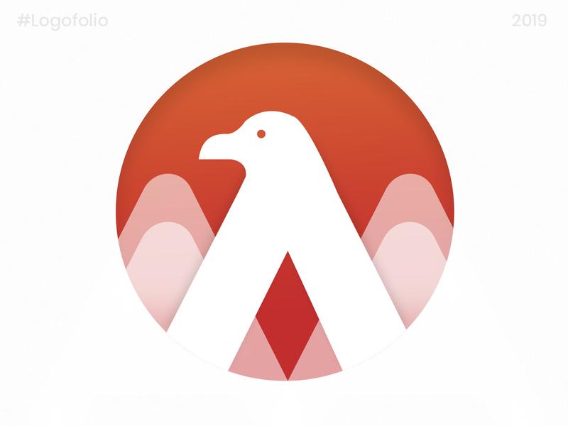 Agle - Logo Design vector illustration brand and identity app icon creative icon icon design logo design bird bird logo animal animal logo logo mark logo eagle