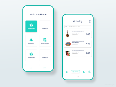 Shopping App UI app ui ux uiux uidesign mobile ui mobile application design app online shop order online app ui shopping app