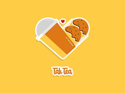 Takoyaki & Tea logo