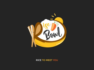 Rise Bowl brand design logo design logo
