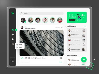 Social Media - Web Design exploration mobile app design brand design webdesign ux design app uidesign uiux ui design ui