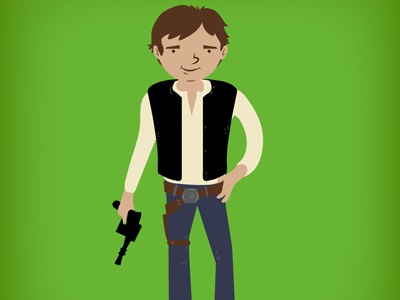 SOLOS: #1 A New Hope Han a new hope episode 4 outfit solo blaster han star wars