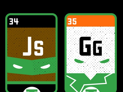 Elements 34 and 35 John Stewart and Guy Gardner Green Lanterns funny vector graphic science john stewart guy gardner green lantern