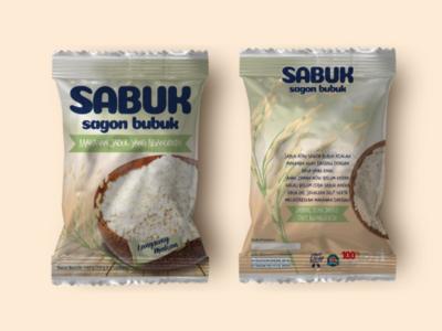 Sagon Bubuk (vintage traditional snack)