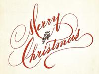 Christmas Handwriting