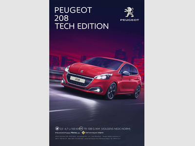 Lay-out Peugeot