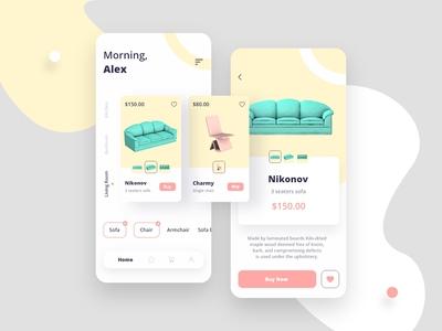 Nola - Furniture App