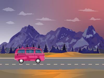 Dribbble Road Trip