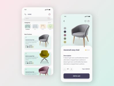 Smart home App website branding minimal app design web ux ui