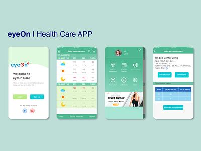 Health Care Mobile App UI healthapp mobile app design ios app design design ux ui