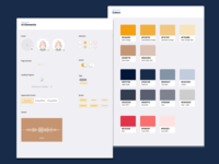 Internal Style Guide interface guidelines guide colors elements app design design ux ui