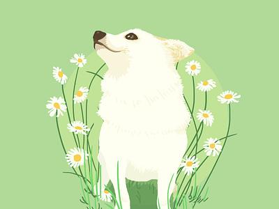 Love it :) animal pet lohas graphic photoshop love visual nature illustration dog