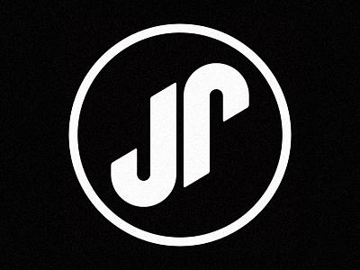 JP Guitar Shop clean minimalist guitarshop brand logo design