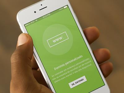 Onboard Screen ux ui clean interface material design minimalist sao paulo brazil