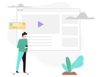 User Profile Video UI