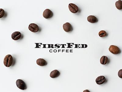 FirstFed Coffee arizona phoenix retro architecture dollar midcentury currency money coffee shop coffee logo branding
