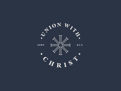 Union with X cross church bible christ logo christianity branding content creation content