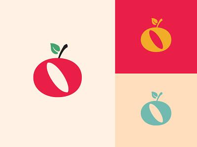 froot brand design brand color palette color entrepreneur startup logo design logo branding homeschool school education plant apple o fruit