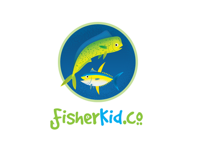 FisherKid.co Logo by Caiden