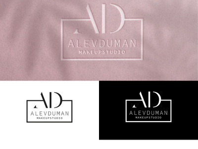 ALEV DUMAN MAKEUP STUDIO cosmetic beauty studıo makeup graphic design branding logo design logo