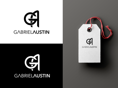 Gabriel Austin | Fashion Logo logo design fashion brand clothing logo fashion logo clothes woman clothing logo fashion branding