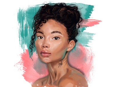 Digital painting art photoshop illustrator design digital painting