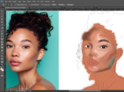Digital painting digital painting illustrator illustration
