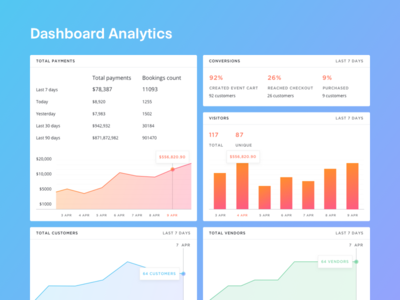 FREEBIE - Dashboard Analytics