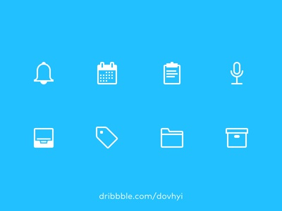 FREEBIE – Outline Icons - Get Yours Now