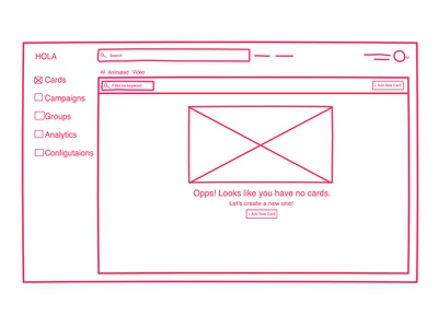 Sketching Low Fidelity Wireframes Using Freehand by InvisionApp app web invision wireframe freehand animation sketch