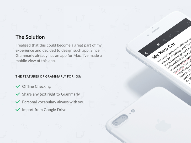 Grammarly for iOS gets new award by Alex Dovhyi | Dribbble