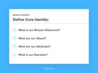 Define Core Identity
