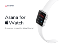 Asana for Apple Watch is finally here