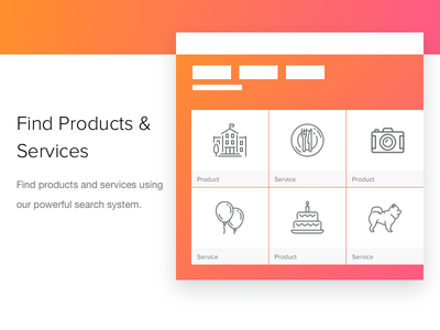 Find Products - Event Planning Service company saas search service product tasks budget guests time date plan event