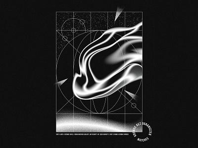 Cosmos illustration blackandwhite black  white black cosmos cosmic creativeherd adobe vector drawing dogz creative illustration design artwork art